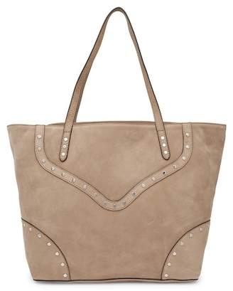 Rebecca Minkoff Rose Nubuck Leather Tote with Biker Studs
