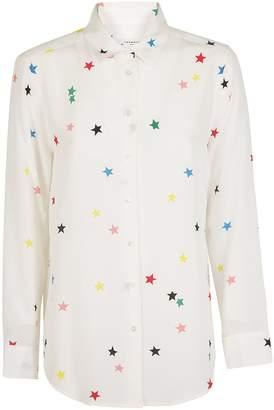 Equipment Star Print Shirt