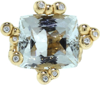 Lucifer Vir Honestus Parrocchino Natural Topaz Ring