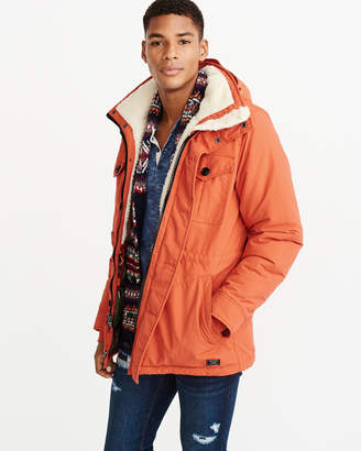 Abercrombie & Fitch Sherpa-Lined Trekking Parka