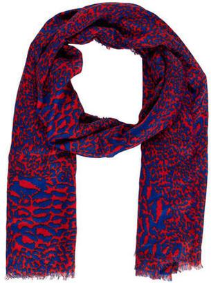 Diane von Furstenberg Leopard Print Shawl $75 thestylecure.com