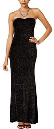 4f5a9612d35 at Amazon.com · Jump Junior s Strapless Glitter Slinky Long Prom Dress