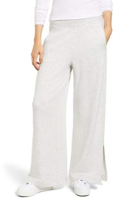 Lou & Grey Plush Wide Leg Sweatpants
