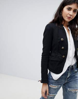 Free People military blazer