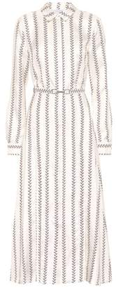 Gabriela Hearst Jane silk midi dress