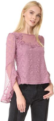 Nanette Lepore Carrie Blouse $358 thestylecure.com