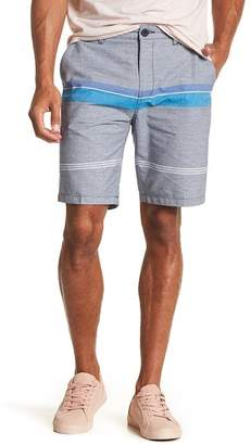 Micros Canvas Stripe Walk Shorts