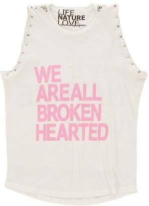 Freecity We Are All Broken Hearted LNL Sleeveless Stud Tee