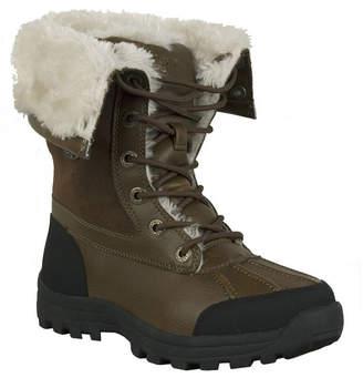 Lugz Womens Tambora Lace Up Water Resistant Winter Boots Flat Heel