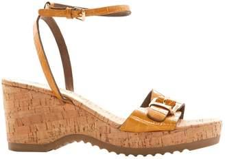 Stella McCartney Stella Mc Cartney Brown Other Sandals