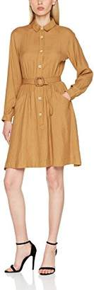 PepaLoves Women's Salma Bronze Casual Dress,8 (Manufacturer's Size:X-Small)