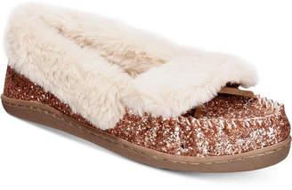 INC International Concepts I.n.c. Yasmina Faux-Fur Slippers