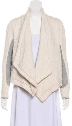 Ulla Johnson Quilted Open Front Jacket