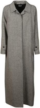 Miu Miu Houndstooth Long Coat