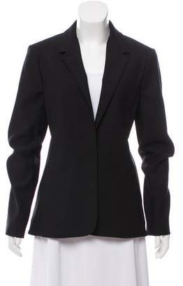 Lanvin Notched Lapel Fitted Blazer