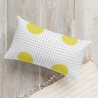 fun polka dot Lumbar Pillow