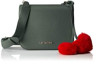 Love Moschino Borsa Pin Grain Pu, Women's Shoulder Bag,8x17x21 cm (B x H T)