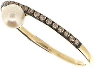 Jane Kaye Single Pearl Ring