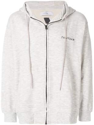 Facetasm zipped hoodie