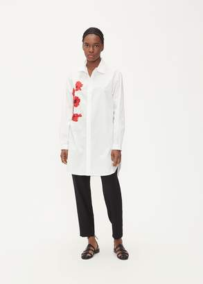 Yohji Yamamoto Y's By Poppy Embroidered Blouse