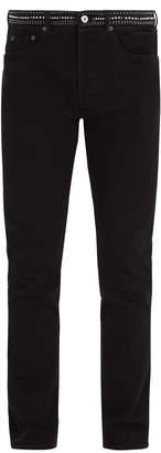 Valentino Studded straight-leg jeans
