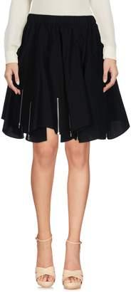 Julien David Knee length skirts