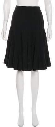 Ralph Lauren Wool Knee-Length Skirt
