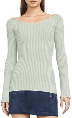 BCBGMAXAZRIA Zoee Rib-Knit Sweater