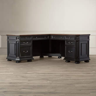 Co Darby Home Stina L-Shaped Executive Desk