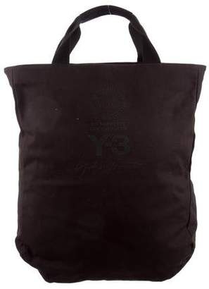 Y-3 Canvas Satchel Bag