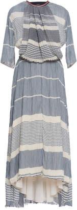 Loewe V-Back Crinkled-Voile Dress