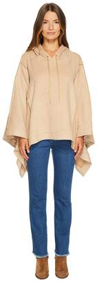 See by Chloe Double Face Jersey Poncho Women's Clothing