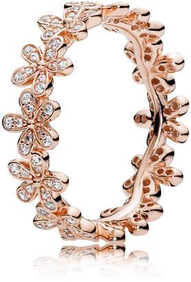 Pandora Dazzling Daisy Band Ring - Cubic Zirconia / Rose