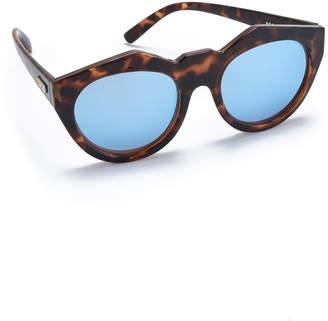 Le Specs Neo Noir Sunglasses $59 thestylecure.com