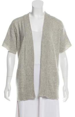 Barbara Bui Cashmere Short Sleeve Sweater