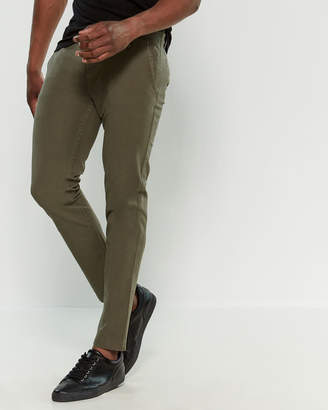 Dockers Olive Downtime Skinny Fit Khaki Pants