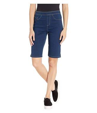 FDJ French Dressing Jeans D-Lux Denim Pull-On Bermuda in Indigo