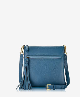 GiGi New York Scout Crossbody, Black Napa Luxe
