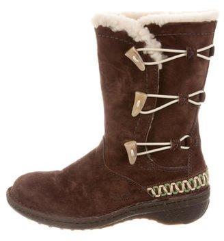 UGG Australia Kona Mid-Calf Boots $90 thestylecure.com