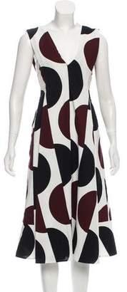 Marni Sleeveless Pleated Dress