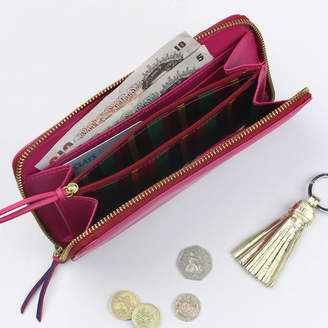 Undercover Leather Long Zipped Purse
