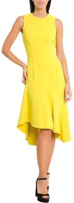 P.A.R.O.S.H. Midi Dress With Maxi Flounce