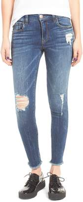STS Blue Emma Distressed Ankle Skinny Jeans