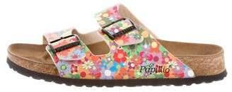 Birkenstock Floral Printed Slide Sandals
