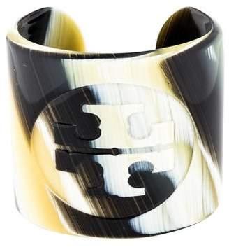 Tory Burch Resin Logo Cuff