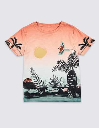 Marks and Spencer Pure Cotton Sunset Top (3 Months - 7 Years)