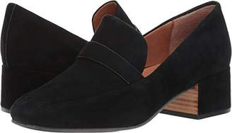 Gentle Souls by Kenneth Cole Women's Eliott Menswear Block Heel Loafer Shoe