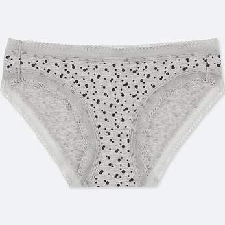 Uniqlo Women's Dot-print Bikini