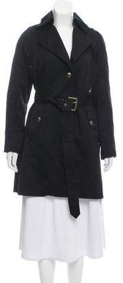 Andrew Marc Knee-Length Trench Coat