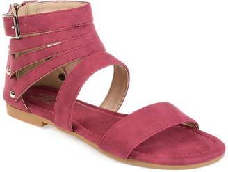 Journee Collection Esence Womens Flat Sandals